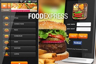 Food Express - Online Food Order Delivery Apps