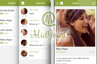 Midjoint - Social Networking App