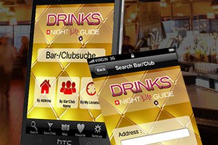 Drinks NightLife Guide - Lifestyle Mobile App