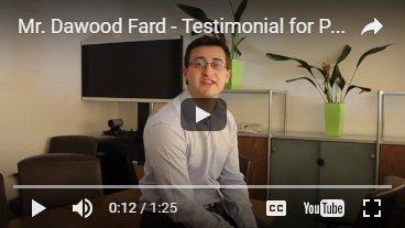 Hidden Brian's client Dawood Fard Testimonial Video