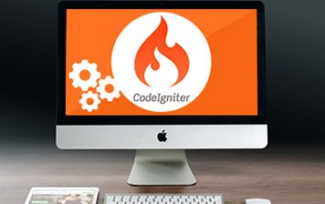 render infotech,CodeIgniter Services, logo