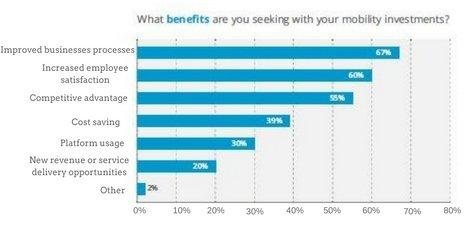Mobile App Benefit Graph