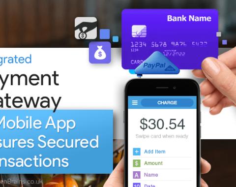 Mobile App Assures Secured Transactions