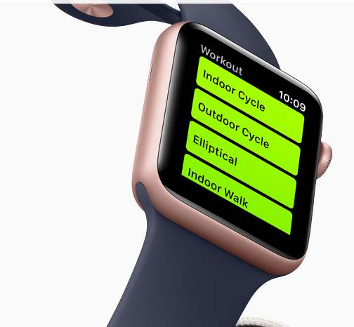 Apple Watch Records your Workout Session