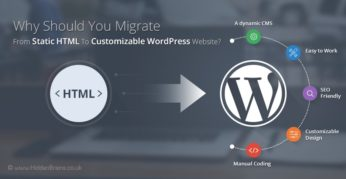 Why Should You Migrate From HTML To Customizable WordPress