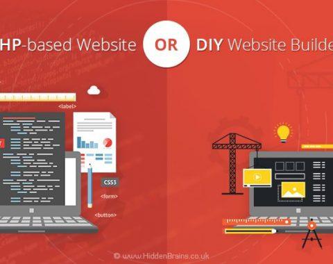 PHP-based Website or DIY Website Builder