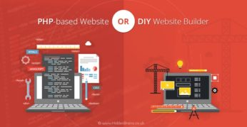 PHP-based Website or DIY Website Builder
