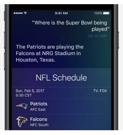 Use the power of Siri