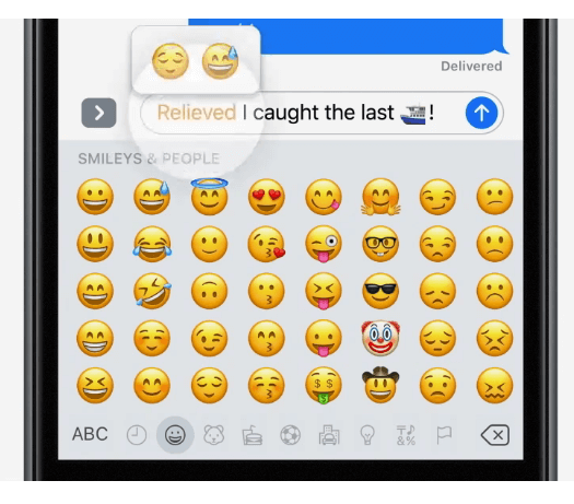 Replace text with emoji automatically