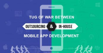 War between Outsourcing and In-House Mobile App Development