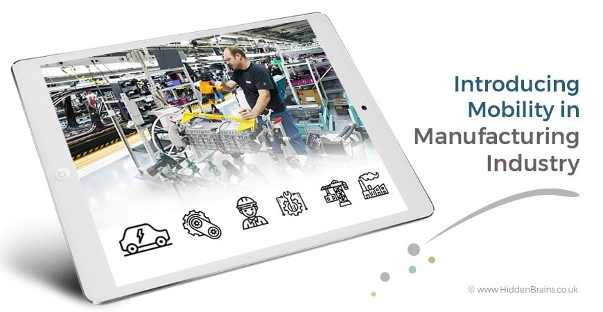 Mobile Apps for Manufacturing Companies