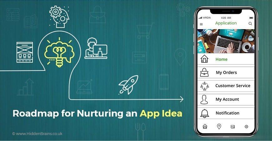 App Idea to Reality -HiddenBrains UK