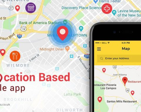 location based app development Services