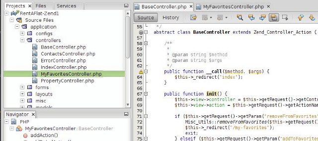 NetBeans- PHP Development Tools