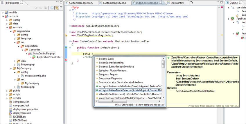 Zend Studio-PHP Dev Tool