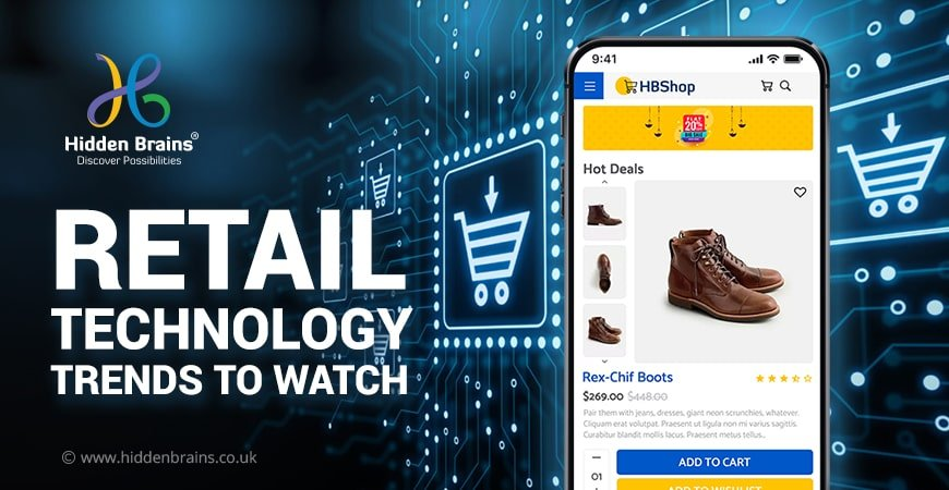 retail technologies and retail tech trends
