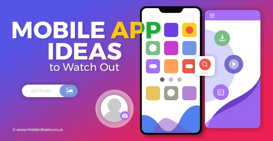 Simple Mobile App Ideas 2019