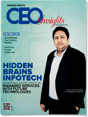 CEO Insights recognizes Hidden Brains as Best Managed Services Provider
