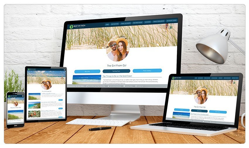 Blog and websites both can be managed by the WordPress